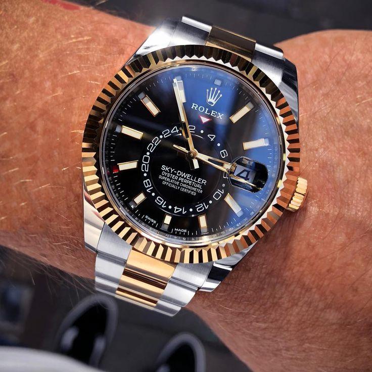 Rolex Watches Collection For Men  Rolex Sky,Dweller Black